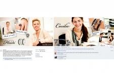 Pandora's Facebook stite