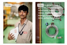 Identity pictures from TDPS head office and plant in Bangalore India