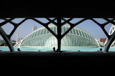 Assignment on Calatrava, Valencia, Spain, for International Herald Tribune